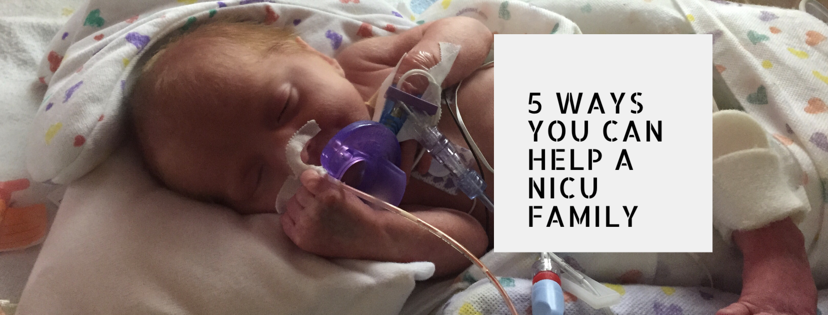 5 ways you can help a family with a baby in NICU