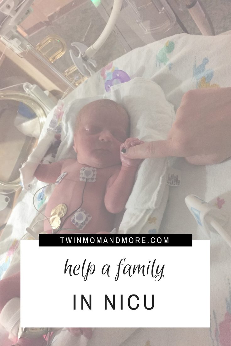 Having a baby in NICU is a very challenging and trying time. Here are simple ways you can support a family going through NICU. #nicu #nicubaby #nicufamily #nicuphotography #nicunurse #premie #prematurebaby #twinpregnancy #twins