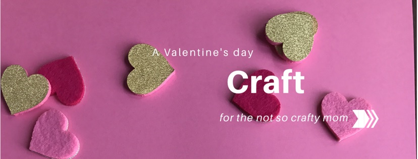 An easy Valentine's Day Craft for children of all ages
