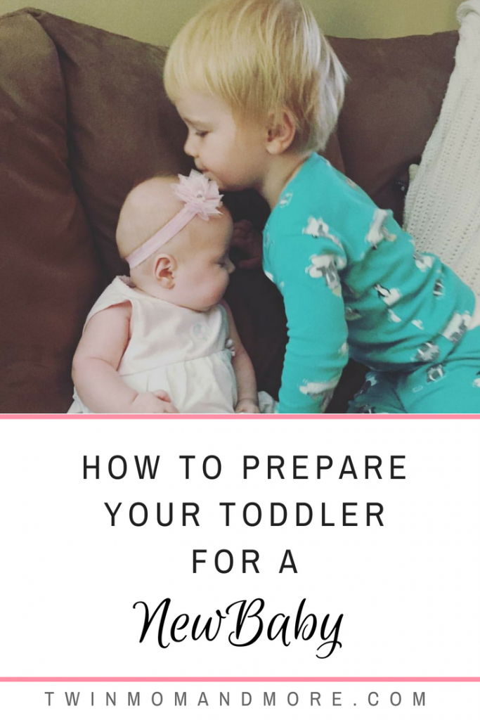 The arrival of a new baby can cause a lot of emotions for a toddler! Help to make the transition as smooth as possible by following these tips. #toddler #newbaby #newsibling #bigbrother #bigsister #bigsibling #secondbaby #2ndbaby #parenting #motherhood