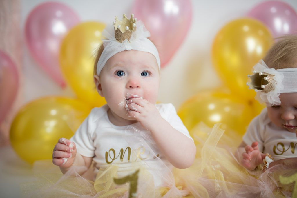 First Birthday Photo Shoot #firstbirthday #pinkandgold #1stbirthday