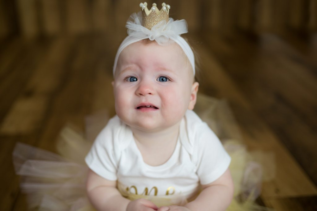 First Birthday photo shoot. #pinkandgold #firstbirthday