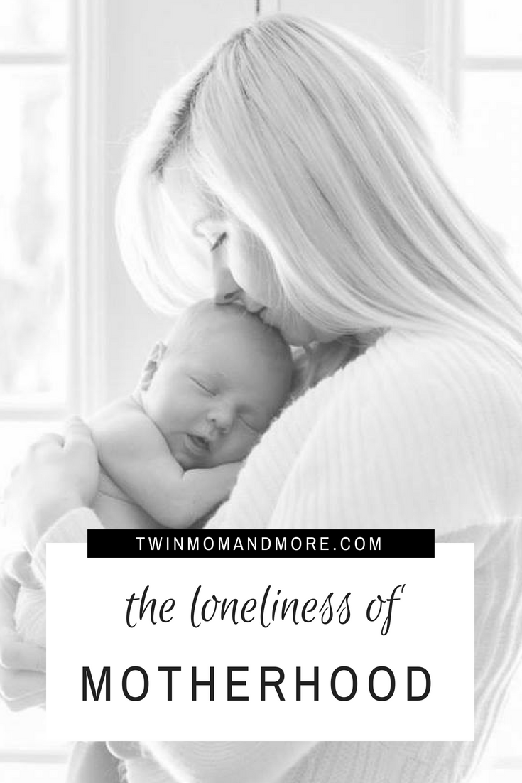 Motherhood is full of joy but it can also be a very lonely time! #motherhood #loneliness #postpartum #newmom