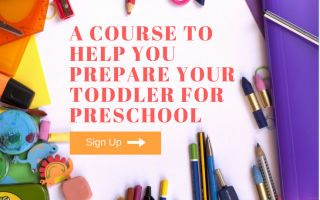Teaching Toddlers: A Course To Prepare Your Toddler for Preschool… and keep them busy all summer