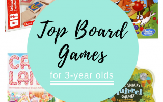 Top Board Games For Three-Year-Olds
