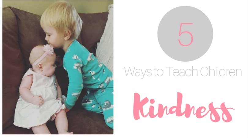 Looking for ways to teach your children kindess? Kindness is a learned behavior, and a difficult one to teach. Read on for 5 ways to teach children kindness.