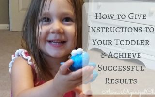 How to Give Instructions to Your Toddler & Achieve Desired Results (BFBN guest post)