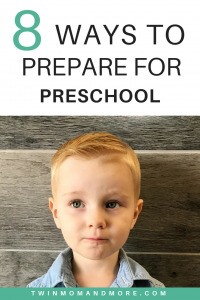 Is your child anxious and nervous about starting preschool? Calm their nerves with these 8 tips. #preschool #preschooler #firstdayofschool #firstdayofpreschool #preschoolreadiness #preschoolprep #parenting #startingpreschool #backtoschool #backtoschoolnerves