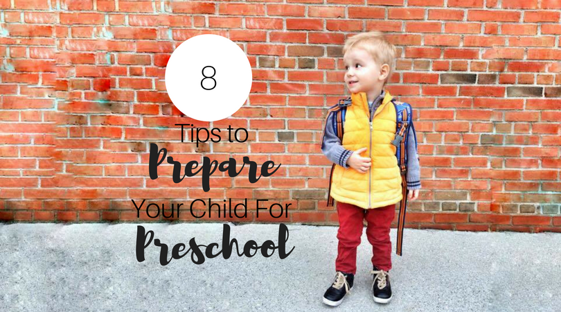 As the school year approaches, you are probably wondering how to prepare your child for preschool. Here are 8 tips to help prepare your child for preschool.   first day of school   preschool preparation   preschool readiness   parenting advice  