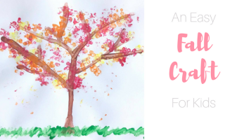 An Easy Fall Craft for Kids
