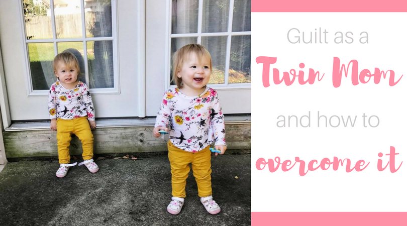 Being a parent to multiples is one of the hardest things you will experience. Try not to let twin mom guilt take over your life! Read on for my tips for overcoming guilt as a twin mom.