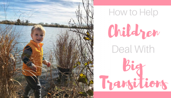 How to Help Children Deal with Big Transitions