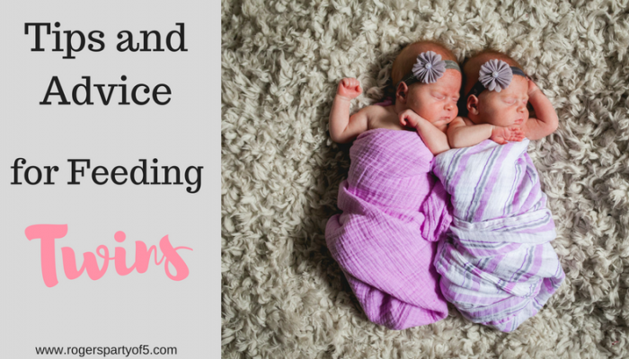 Tips and Advice for Feeding Twins