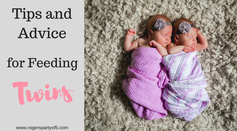 One of the most difficult part of having twins, whether they are bottle fed or breastfed, is figuring out how to feed them both! Read on for some fabulous tips from a twin mom to make feeding your twins a little bit easier.