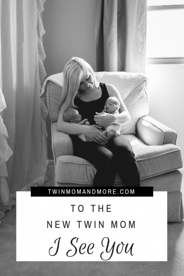 To the New Twin Mom: Being a new twin mom is exhausting, challenging, and very stressful. This is a must read letter for moms who are expecting twins. #newtwinmom #twins #expectingtwins #newborntwins
