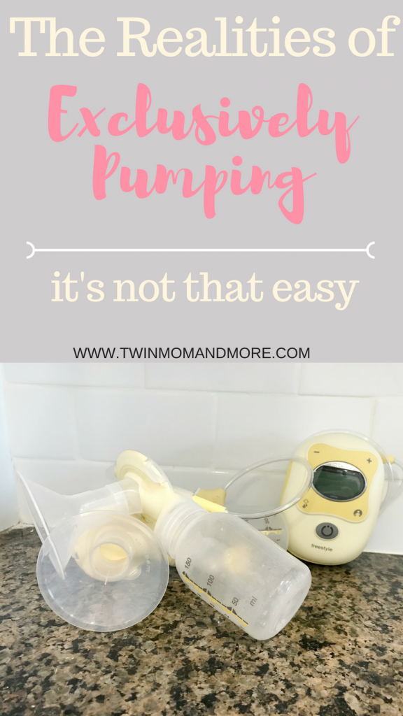 How you choose to feed your baby is a deeply personal choice. Breast or formula? What about exclusively pumping? Exclusively pumping requires a lot of work. Read why it's the choice made by one twin mom and how she felt about it.