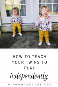 How we got our children to play independently and how it benefitted our entire family. If your children are struggling with fighting or constantly getting into things, independent playtime could change your entire world. #parenting #momhacks #playtime #independentplaytime #babywise #toddlers #twins #toddlertwins #twinparents #twinparentingadvice