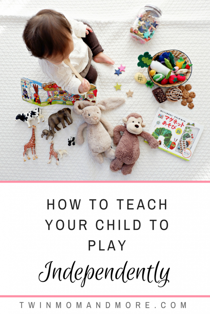 How we got our children to play independently and how it benefitted our entire family. If your children are struggling with fighting or constantly getting into things, independent playtime could change your entire world. #parenting #momhacks #playtime #independentplaytime #babywise #toddlers
