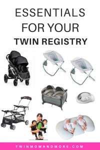 Pregnant with twins? Here is everything you need for your twin registry! #twins #expectingtwins #twinpregnancy #twinregistry #twinregistryessentials #newborntwins #productsfortwins