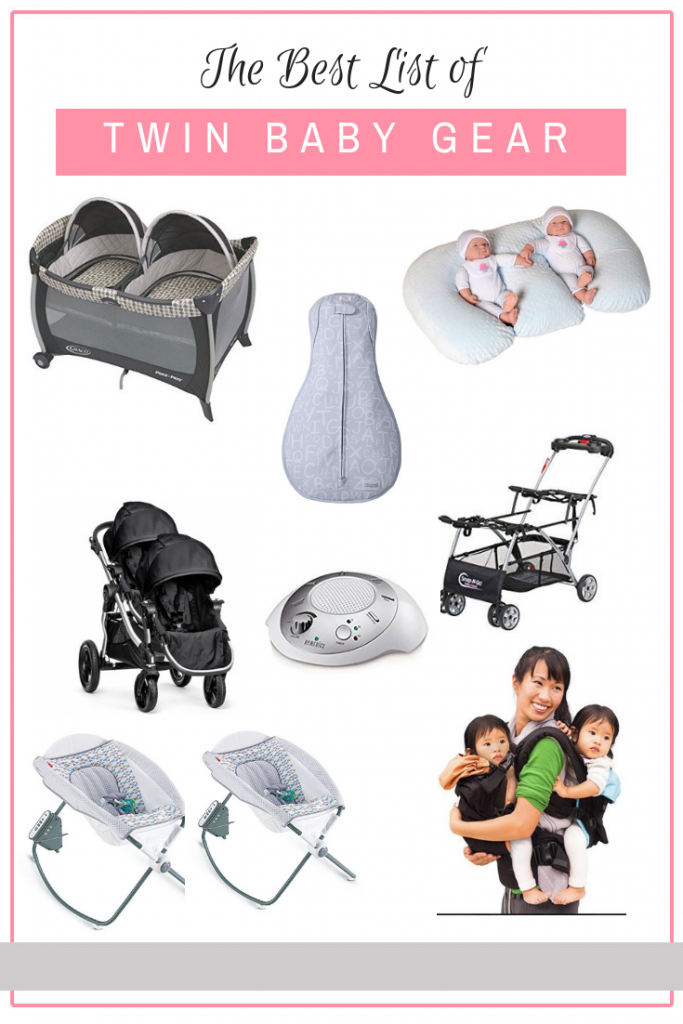 The Ultimate Guide to Your Twin Registry: all of the twin gear you need! #newborntwins #expectingtwins #twinbabygear #twinregistry #babyregistry #twinregistrychecklist