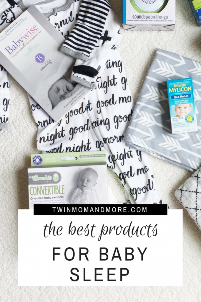 Must have products to get your baby sleeping through the night. #babyregistry #babyregistryessentials #babysleepproducts #babysleeptips #newborntips #newmom #sleeptraining #sleepthroughthenight