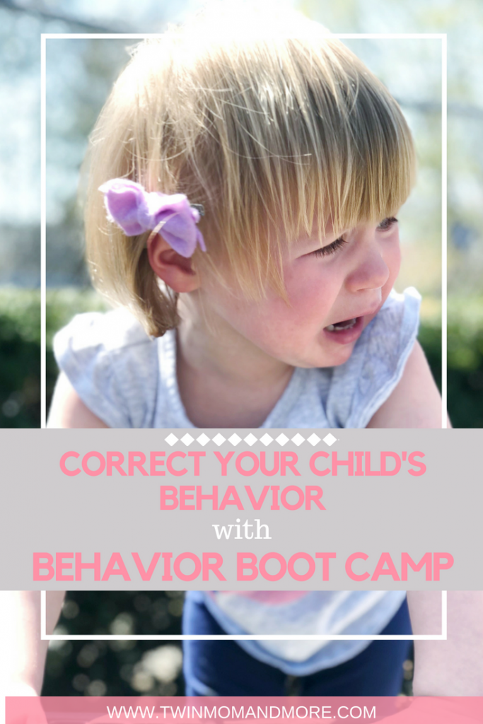 If you're struggling with bad behavior with your children, a behavior boot camp could be just what you need to get them back on track! #parenting #discipline #disciplinekids #disciplinetoddlers #behaviormanagement