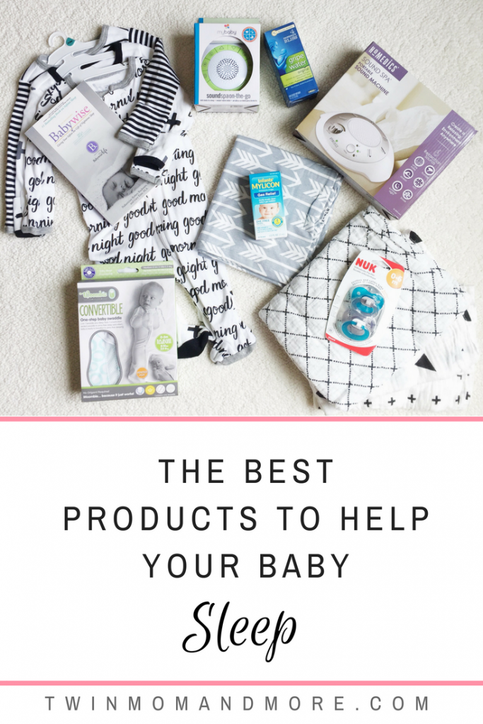 The best products to help your baby sleep through the night! #babies #babyregistry #newborns #babysleepproducts #sleeptraining #newbornessentials