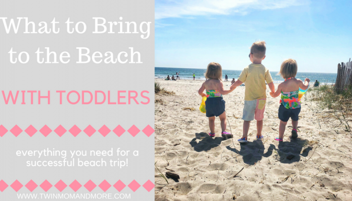 What to Bring to the Beach with Toddlers