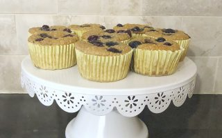Easy and Healthy Blueberry Oatmeal Blender Muffins