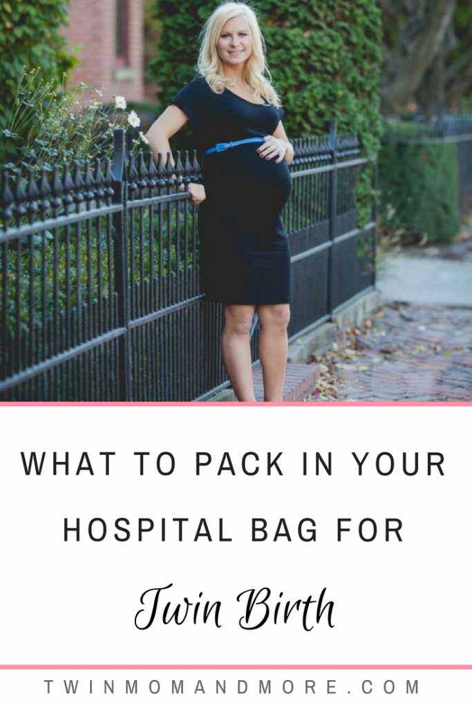 Having the right supplies for a twin birth is essential! Here is a must-have list with a printable checklist from a twin mom. #expectingtwins #twinpregnancy #twinbirth #twinlabor #twinhospitalbag #hospitalbagchecklist #hospitalbagfortwins