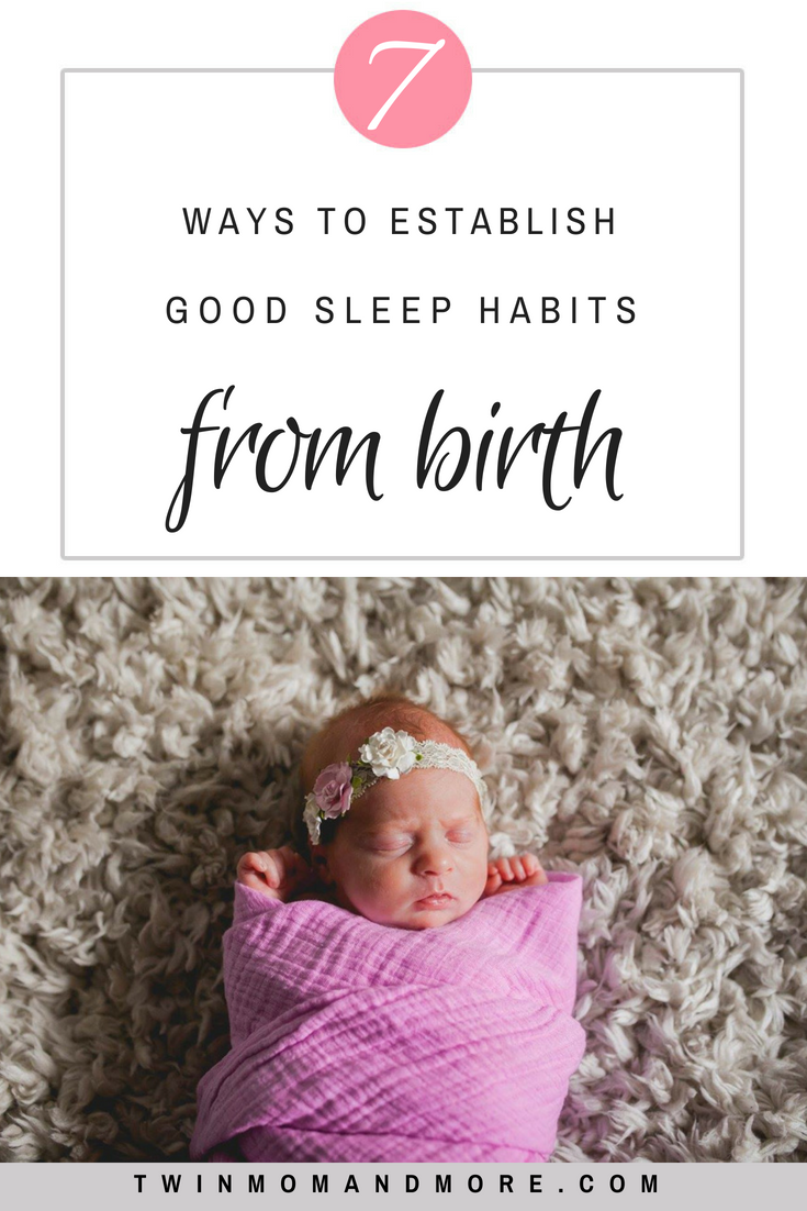 It is possible to establish good sleep habits with your baby from day 1. Set them up for success sleeping so that everyone is well-rested! #expecting #pregnancy #sleephelp #sleeptips #sleeptraining #babywise #newborns #newmom #firsttimemom #babysleep #babysleephelps