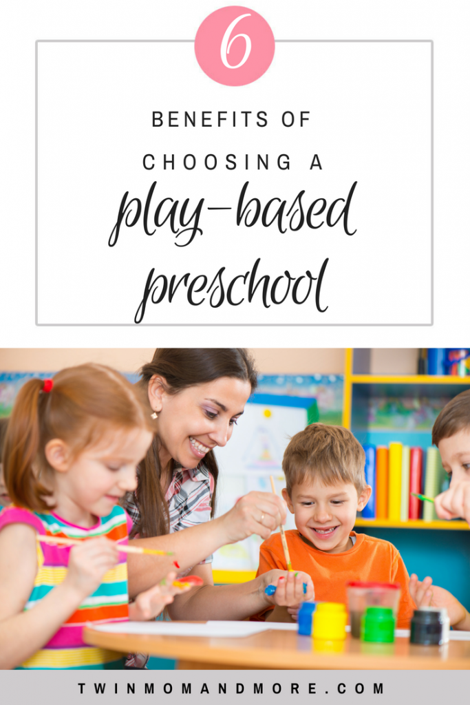 There are many important factors to consider when choosing a preschool for your children. There are many benefits of choosing a play-based preschool over an academic based one. Read the reasons here! #preschool #learning #play #playbasedpreschool #playbasedlearning #learningbyplay #letthembelittle