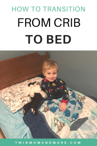 How to Handle the Crib to Bed Transition: tips to successfully transition your child from crib to toddler bed. #toddlerbed #cribtobed #cribtobedtransition #parenting #toddlers