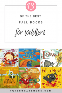 The Best Fall Books for Toddlers: reading is a great way to learn about everything the autumn season has to offer! #fall #autumn #booksfortoddlers #fallbooks #toddleractivities #booklist