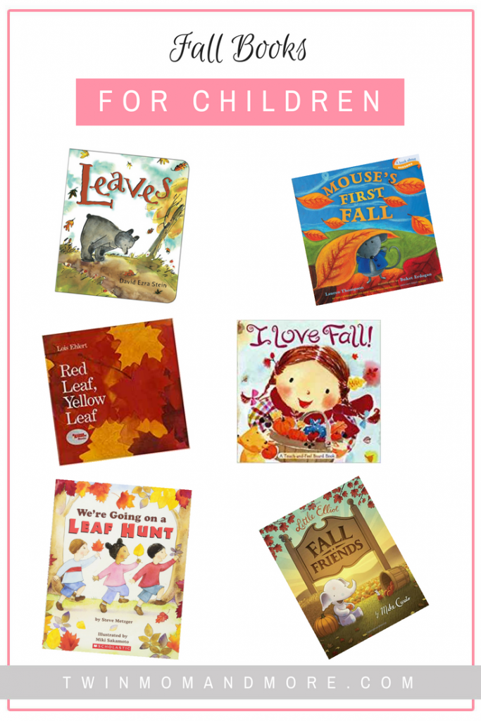 The Best Fall Books for Children: Your children will love discovering the magic of autumn through these fall books. #fall #autumn #fallbooksforchildren #booksfortoddlers #booksforkids #activitiesforfall
