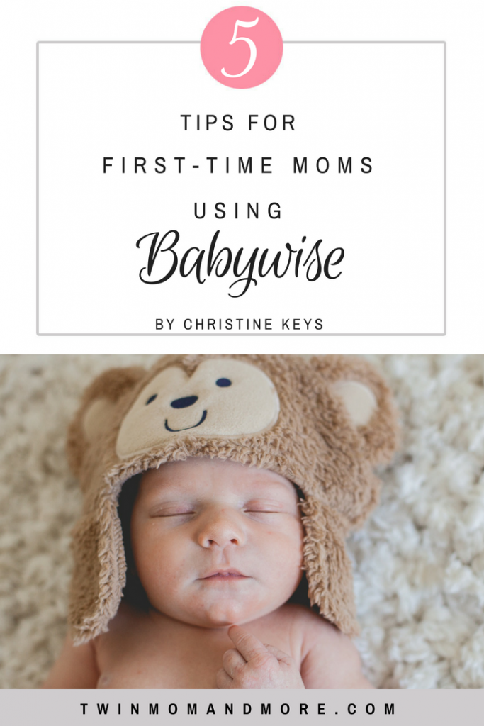 5 Tips for the First Time Mom Using Babywise! When you're a first time mom with a newborn it can be overwhelming. Here are great tips to help you use the Babywise method as a first time mom. #motherhood #newborn #babywise #firsttimemom #newmom #sleeptraining #onbecomingbabywise #postpartum