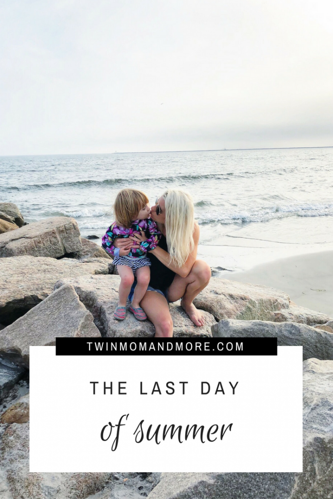The Last Day of Summer: thoughts from a mama on the beginning of a school year. #summer #backtoschool #parenting #motherhood