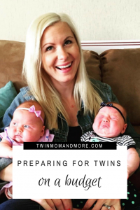 Preparing for Twins on a Budget: How to prepare for twins financially; everything you need to know from medical expenses to a registry guide! #expectingtwins #preparingfortwins #twinsonabudget #twinmom