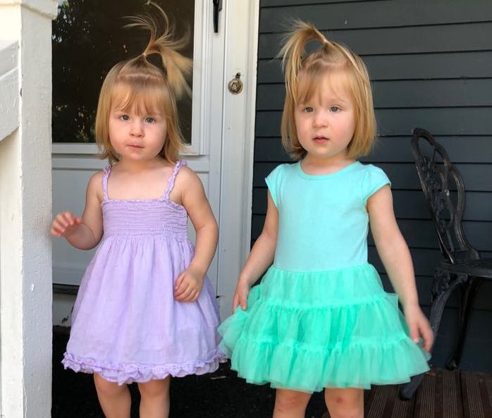 Managing Toddler Twins is Harder Than Newborn Twins: #twins #toddlertwins #twinmom #twingirls #raisingtwins #parentingtwins #lifewithtwins #twinmomlife #twintoddlers