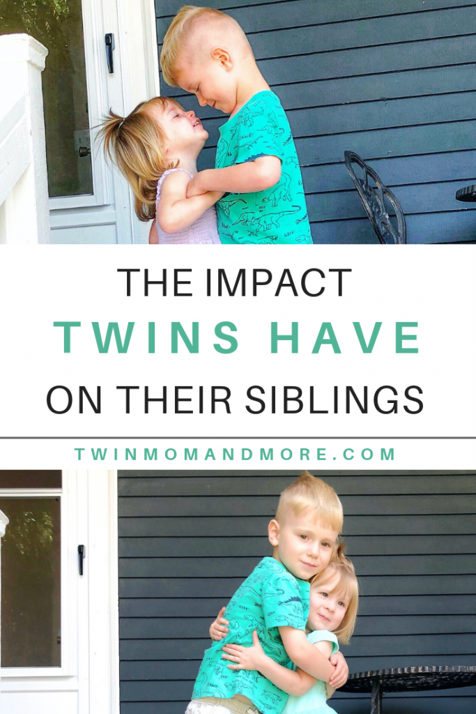 The Impact Twins Have on Their Siblings: Having twins when you have a child already can be nerve wracking! But twins have such a wonderful impact on their siblings. #twins #siblings #siblinghood #raisingtwins