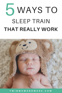 An overview of sleep training methods that actually work! Find the sleep training method that will work best for your family and get your baby sleeping through the night. #sleeptrainingmethods #sleeptraining #sttn #ferber #babywise #CIO #babysleeptips #gentlesleeptraining