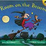 Best Halloween Books for Chikdren: room on the broom