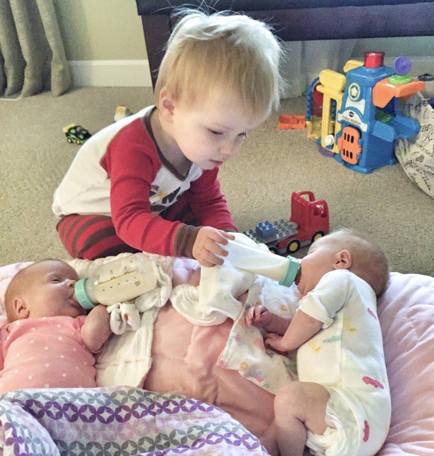 raising twins first year
