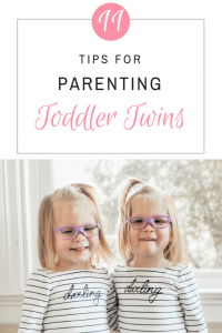 11 Tips and Tricks for Parenting Toddler Twins (without losing your mind).How to survive life with twin toddlers. #parentingtwins #raisingtwins #advicefortwinparents #toddlertwins #twinmom