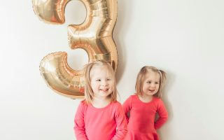 3 Year Old Twins: Josie and Margo's 3 Year Summary