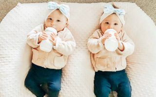Time Saving Hacks For Bottle Feeding Twins