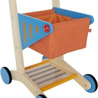 Award Winning Hape  Kid's Wooden Shopping Cart