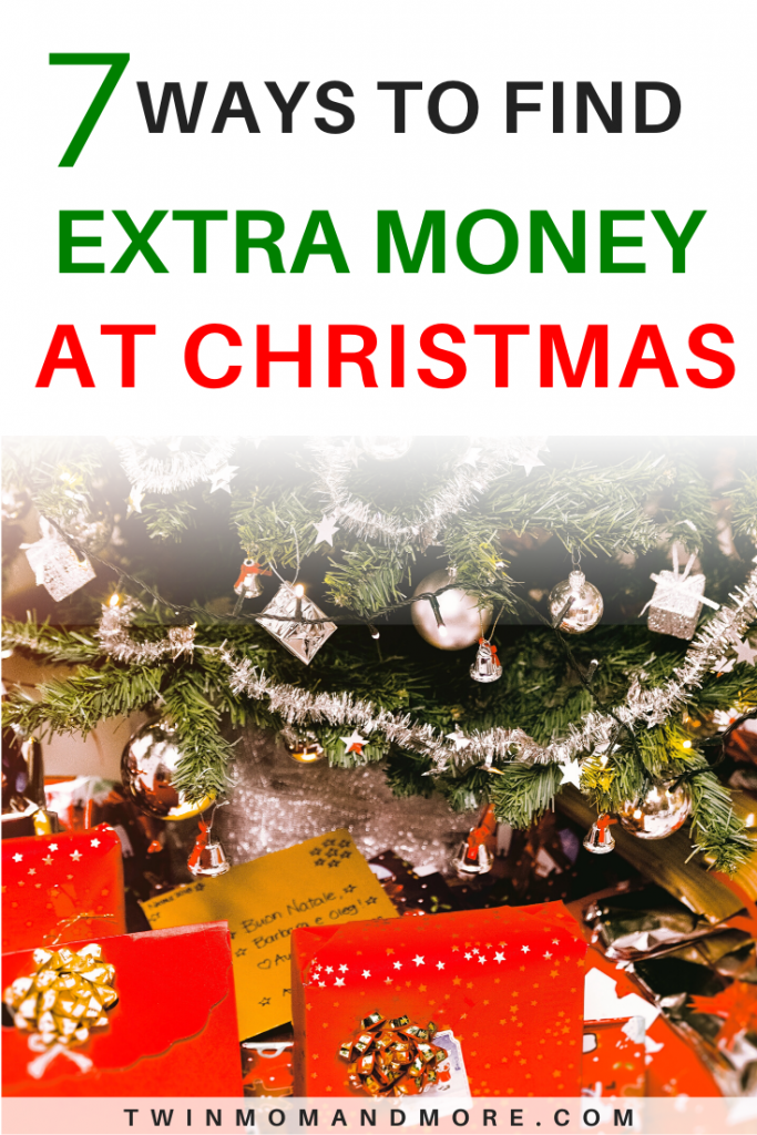 Pinterest image of how to make extra money at Christmas.