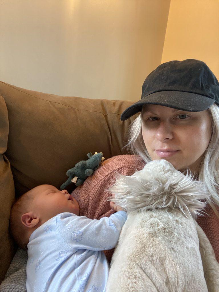 2 week old baby routine
