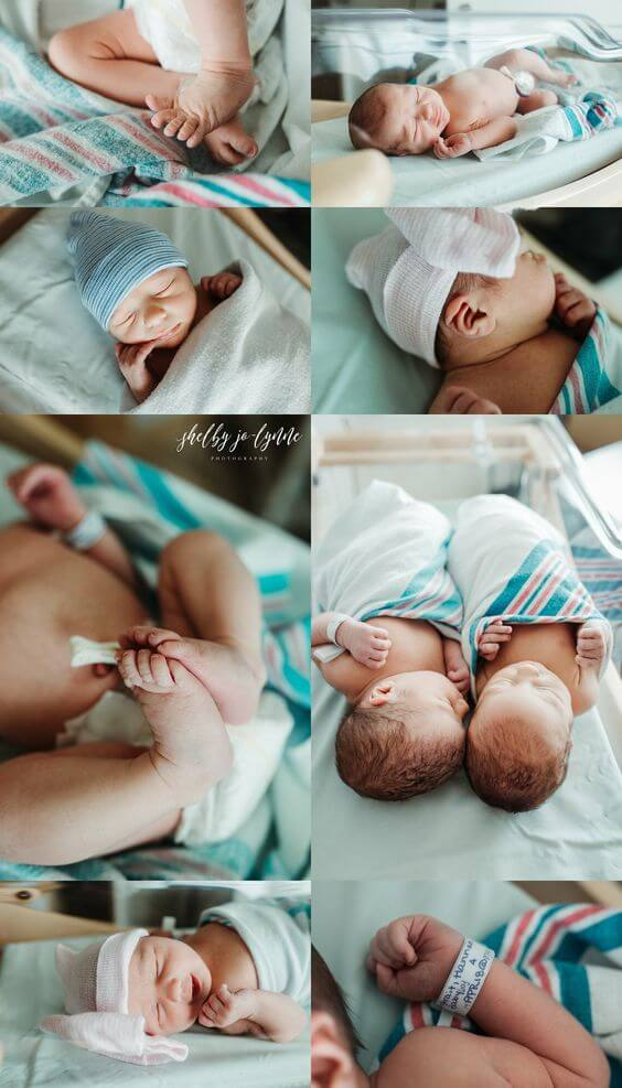 twin birth announcements